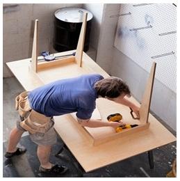 Сборка столов по низким ценам в Ногинске от специалистов
