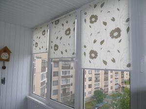 Установка рулонных штор на пластиковые окна в Ногинске