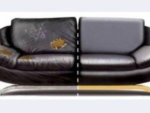 Перетяжка кожаного дивана в Ногинске