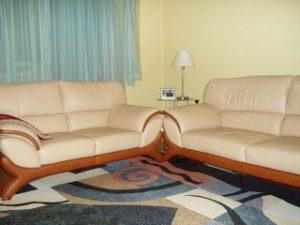 Перетяжка кожаной мебели в Ногинске
