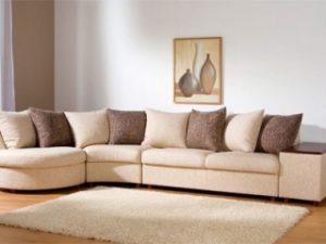 Перетяжка углового дивана на дому в Ногинске
